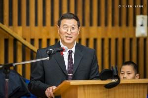 Director of Yu Feng Chinese School, Xiaosheng (Simon) Fan育丰中文学校理事长,范小生