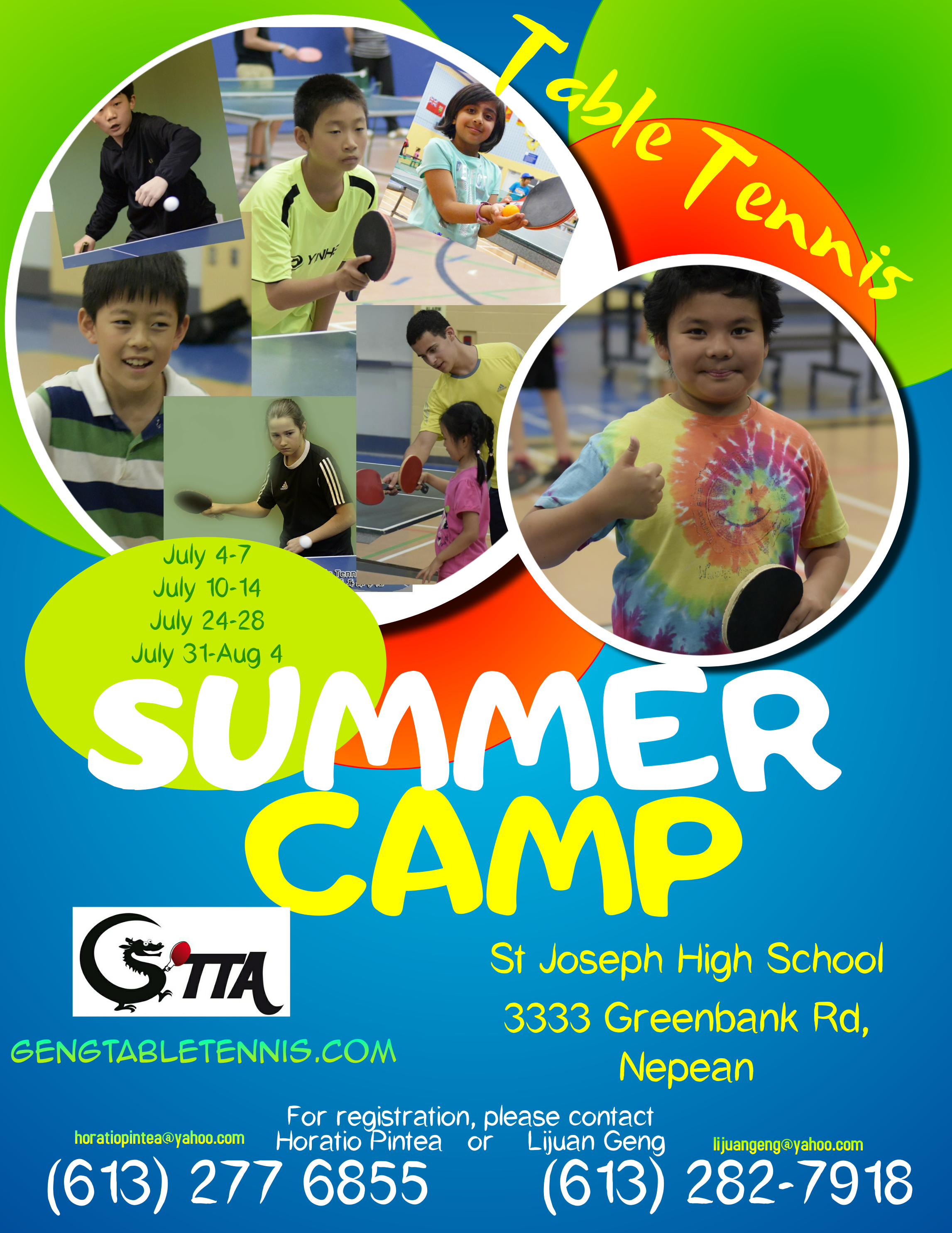Copy of Kids Summer Camp Flyer Template (1)