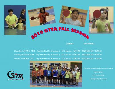 2018 GTTA fall session